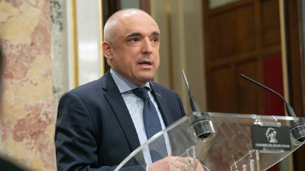 El secretario general del Grupo Socialista en el Congreso de los Diputados, Rafael Simancas