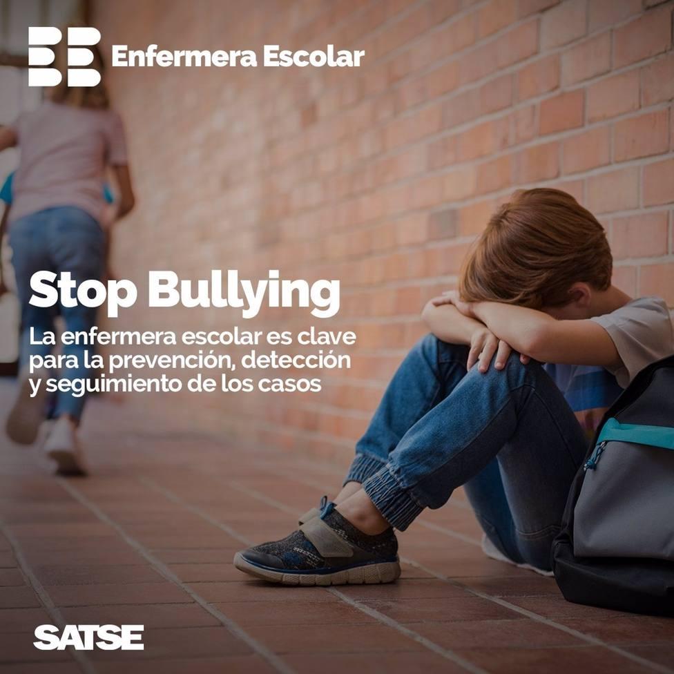 Satse Murcia insiste en implantar el próximo curso la figura de Enfermera Escolar para prevenir y detectar el Bullying