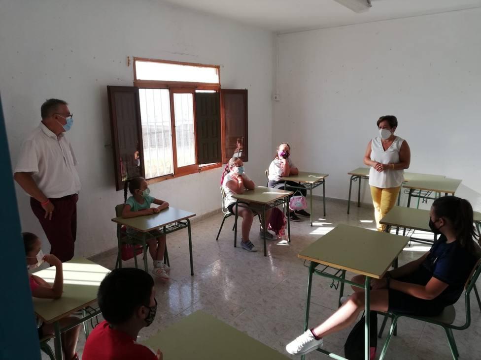 Comienza el Comedor Social de Verano en el Colegio Ramón y Cajal y la Escuela de Verano del Garrobillo