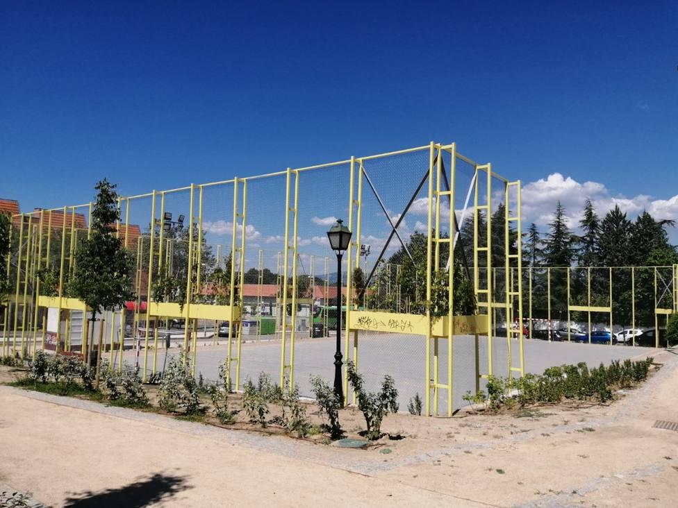 Parque de Pradogrande, en Torrelodones