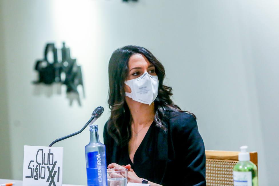 Inés Arrimadas: Ellos están viendo que les ha salido bien la jugada