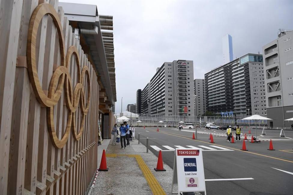 Imagen de los exteriores de la Villa Olímpica