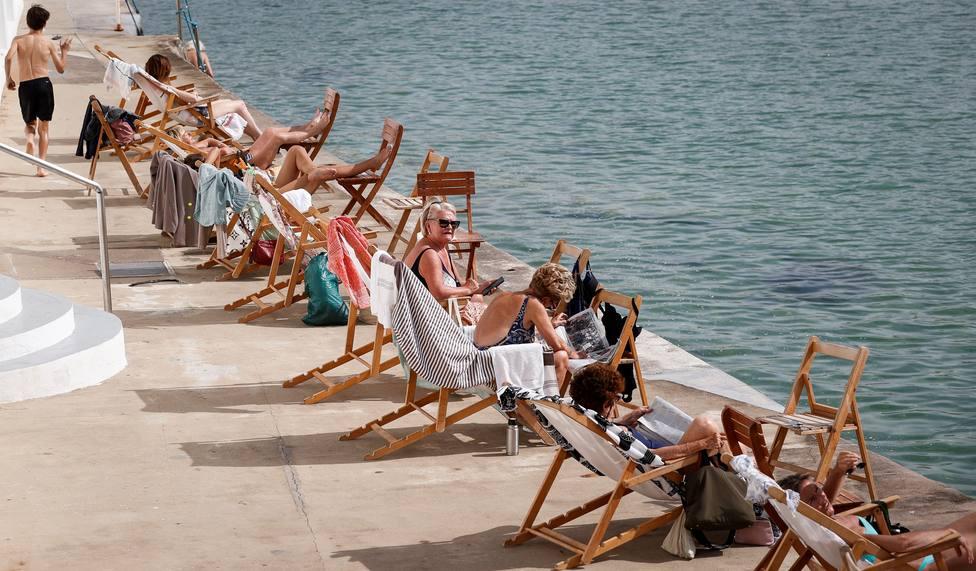 Jornada calurosa en San Sebastián