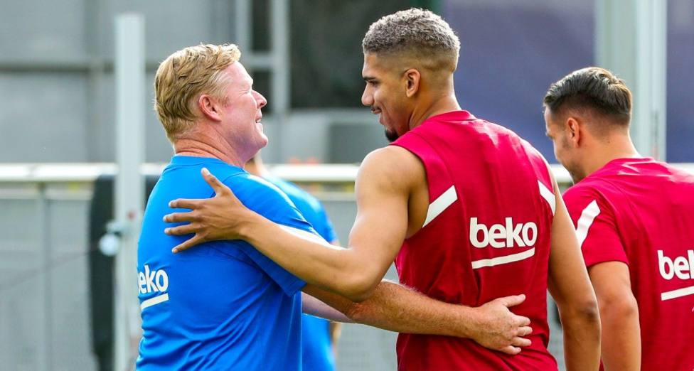 Araujo ja entrena amb el Barça