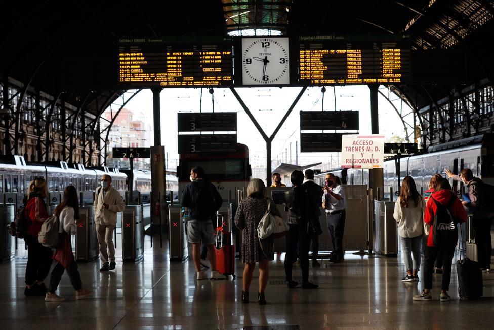 Cuarta jornada huelga RENFE