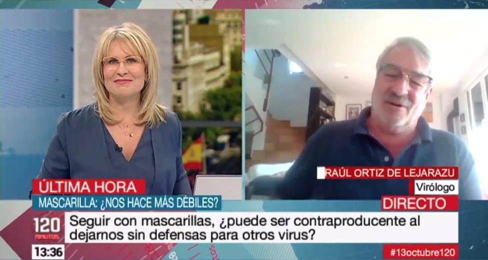 Un virólogo en televisión habla claro del fin de las mascarillas: Se le está poniendo cara de...
