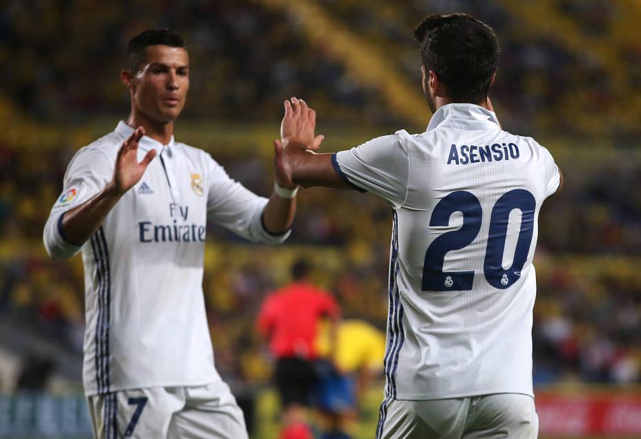 Asensio y Cristiano Ronaldo