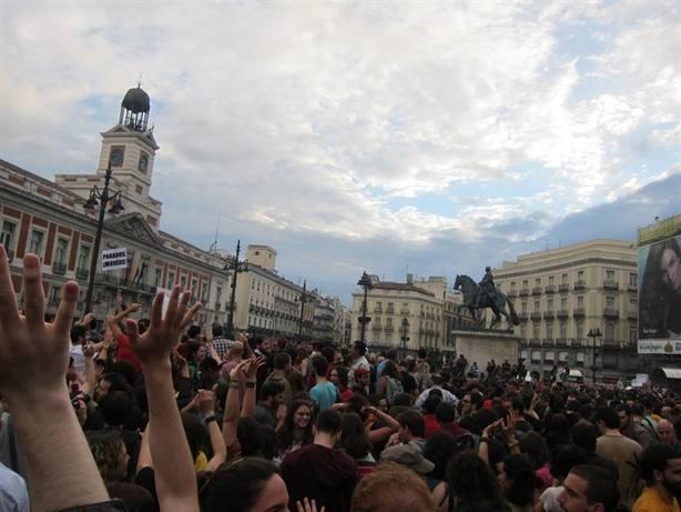El 15M tendrá su polémica placa en la Puerta del Sol de Madrid
