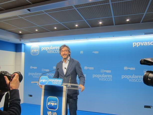Oyarzábal defiende que el pacto con Vox y destaca que el PP ha apartado las propuestas radicales