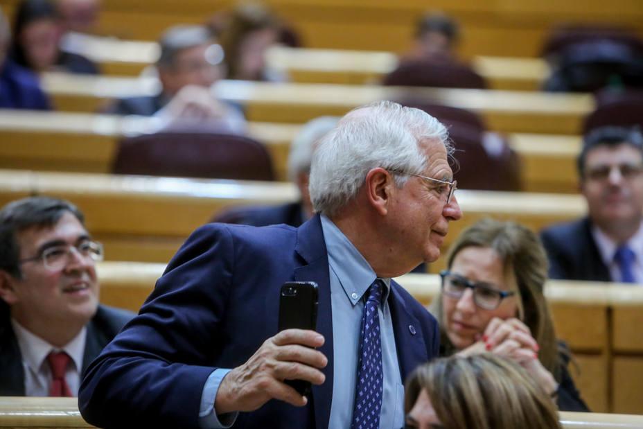 Borrell carga contra Casado: Las acusaciones de alta traición y felonía son injustificadas e inaceptables