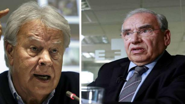 Felipe González y Alfonso Guerra