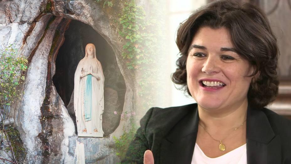 Maryel Devera, la productora de realities anticlerical que se convirtió en Lourdes
