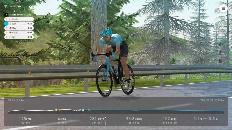 Telefónica se asocia a Bkool para lanzar una competición internacional de ciclismo virtual