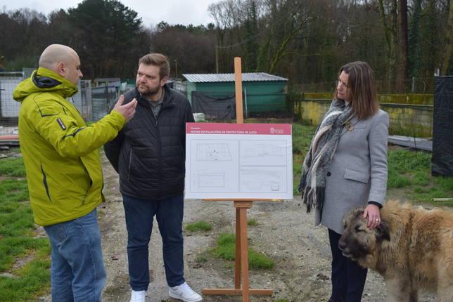 La Diputación adjudica la reforma integral de la protectora de animales de Lugo por 270.000 euros