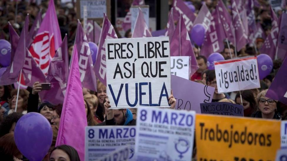 Sánchez se apropiará de las movilizaciones feministas del 8-M