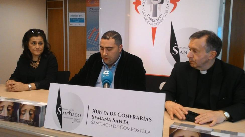Presentación de la exposición de la Semana Santa de Santiago
