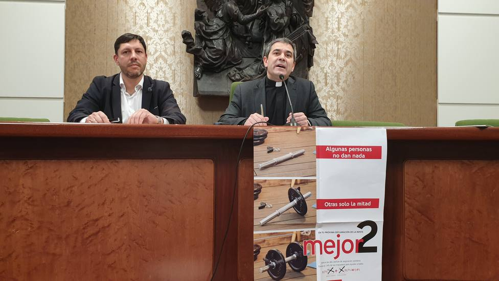 Ignacio Ruiz y Vicente Rebollo, esta mañana