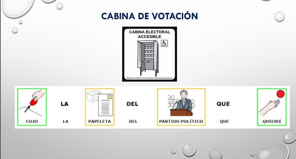 Un colegio de Boiro (A Coruña) será pionero en su adaptación para el voto de personas con discapacidad intelectual