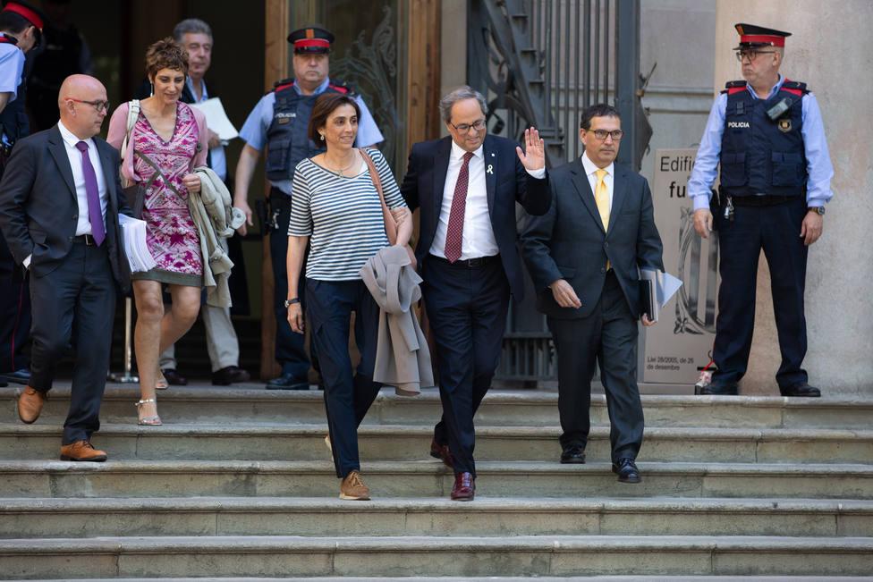 Torra incrimina al Tribunal Superior de Justicia de Cataluña al querer inhabilitarlo por razones ideológicas