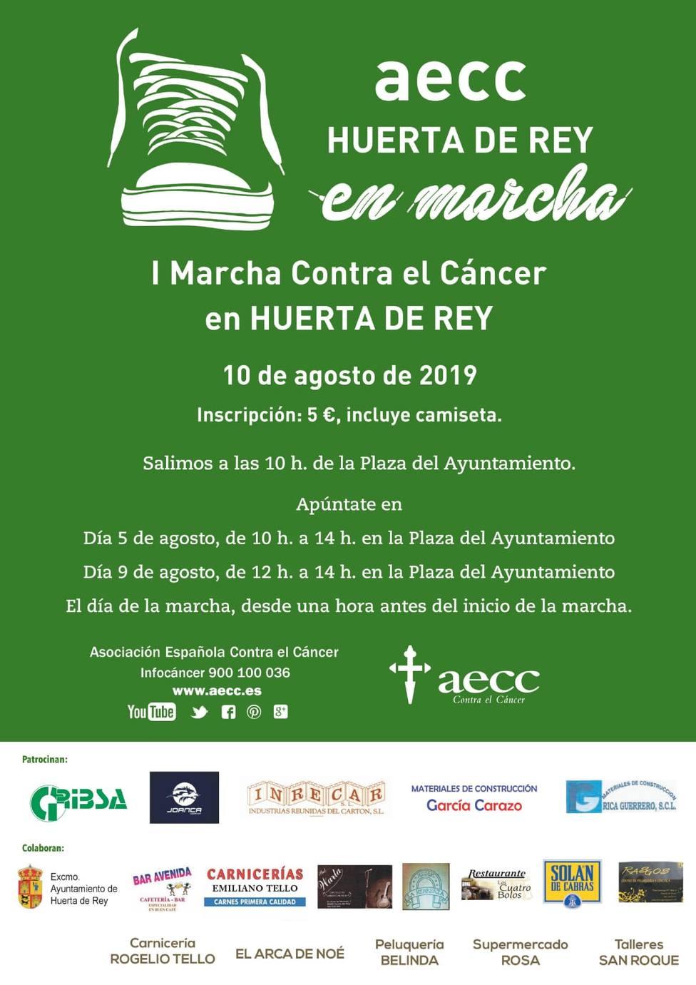 AECC en Marcha Huerta de Rey