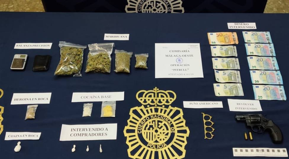 Desmantelado un narcopiso en Arroyo de los Ángeles, Málaga