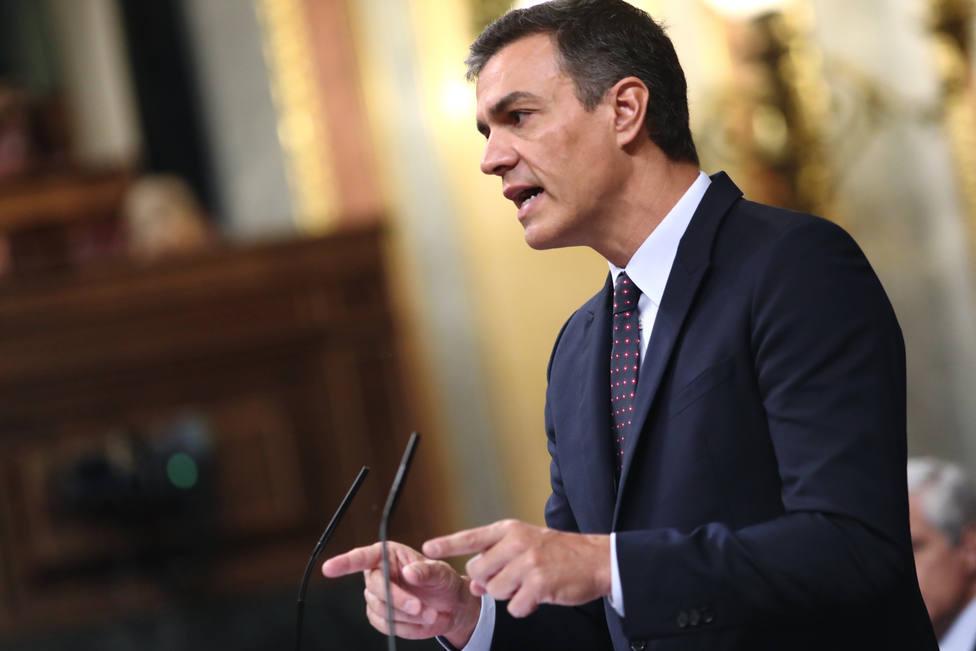 Sánchez asegura que cuando forme Gobierno declarará la emergencia climática en España, como pide Podemos