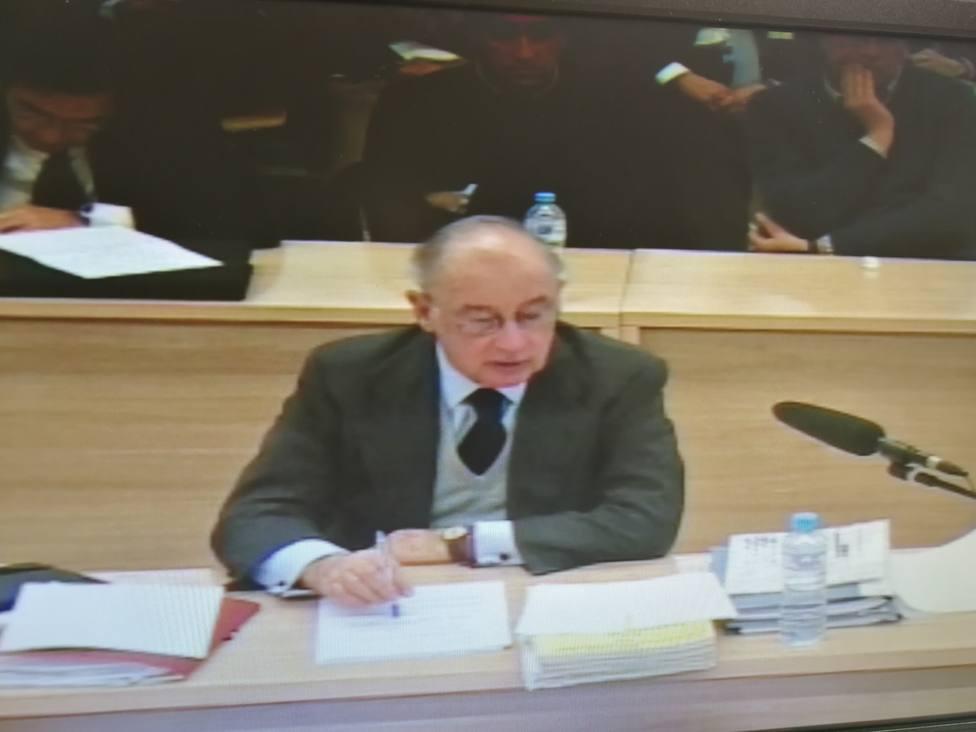 La defensa de Rodrigo Rato achaca el caso Bankia a un accidente fortuito