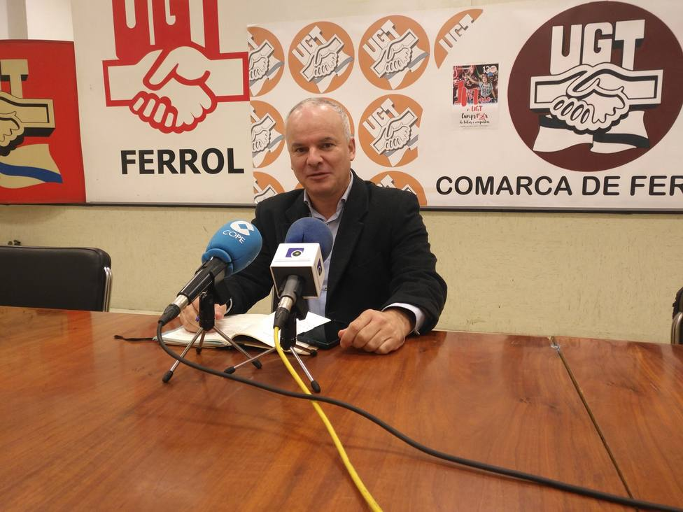 Xacobo Feijóo, responsable de Desenvolvemento Rural de UUAA