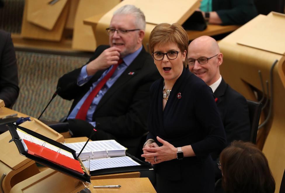 Escocia pedirá un segundo referéndum de independencia tras las elecciones de Reino Unido