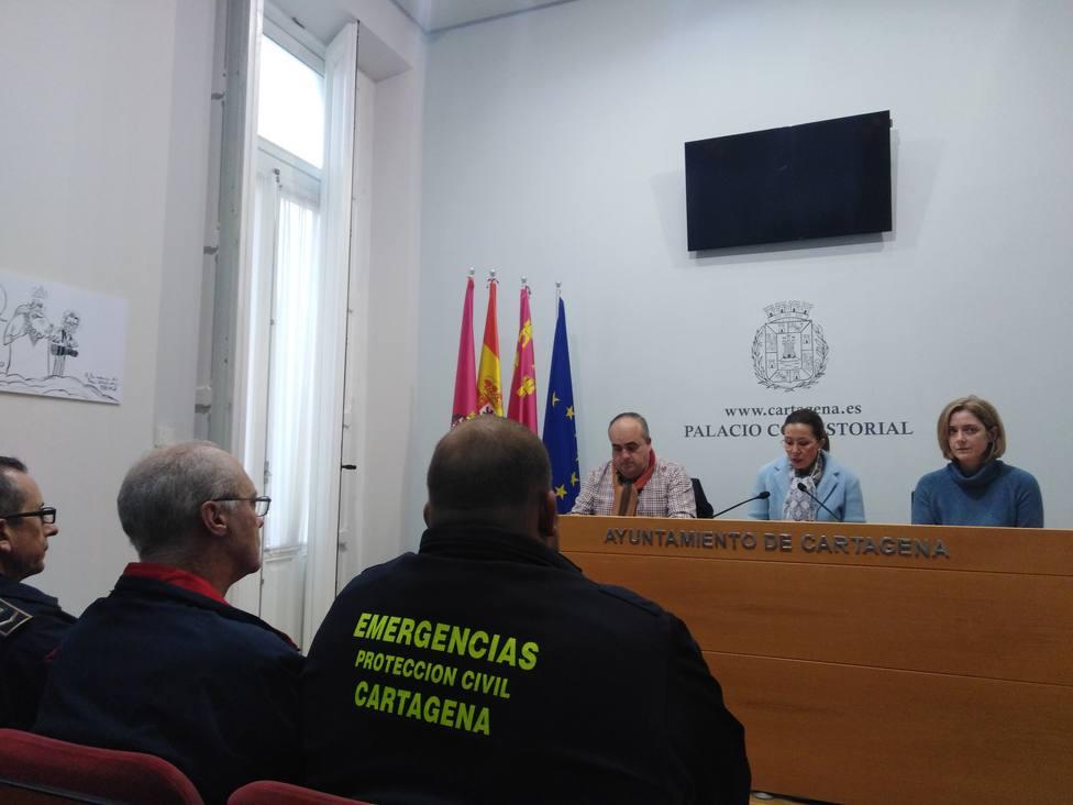 Cartagena vuelve a la normalidad aunque mantiene su dispositivo por la DANA