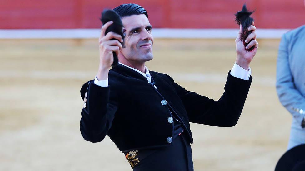 Emilio de Justo durante su actuación en el festival de Ávila el pasado mes de octubre