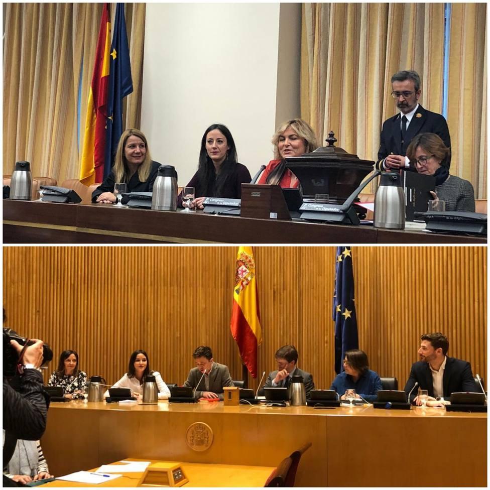 El PSOE reparte con el PP, ERC, Más País y En Comú la segunda tanda de comisiones del Congreso, con Vox y Cs fuera