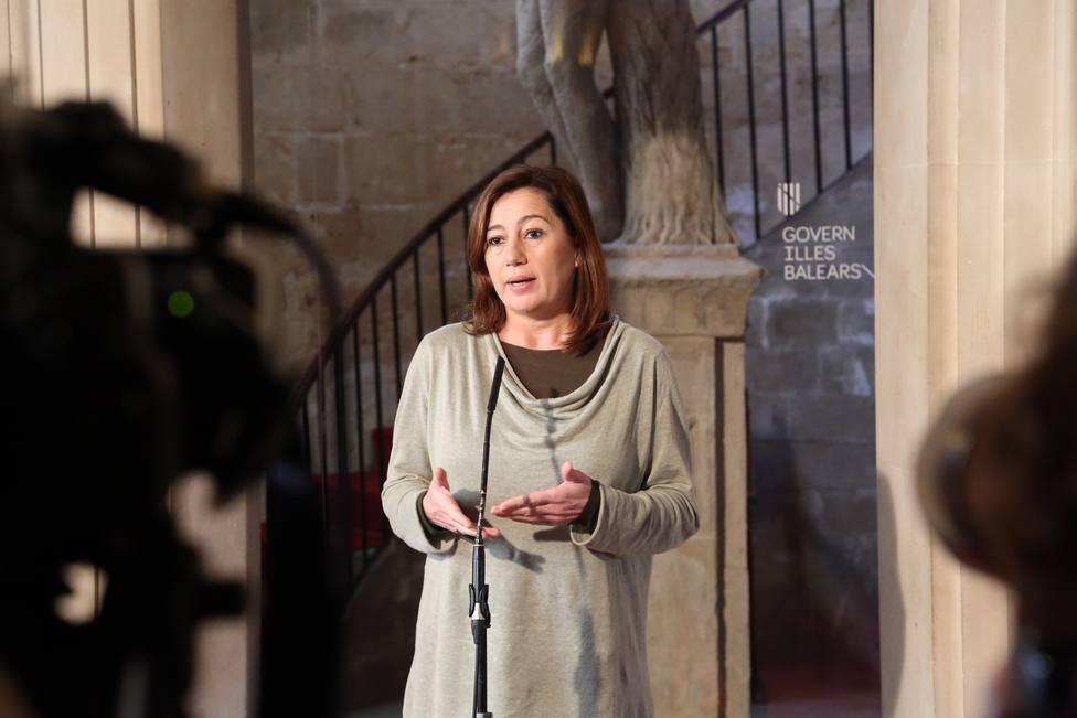 Baleares pide al Gobierno que se restrinjan temporalmente las conexiones con las Islas