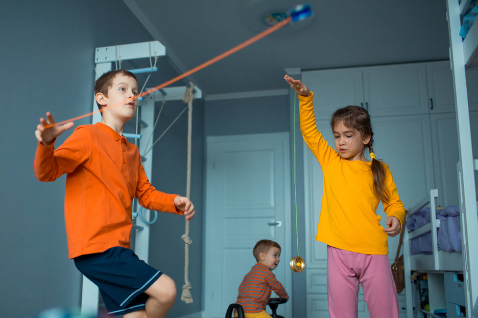 Juegos para el aislamiento: el Yoyó - Juegos tradicionales - COPE