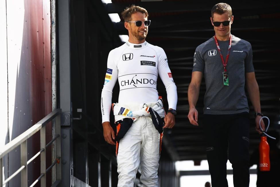 Button: Sainz es un ganador, Ferrari ha elegido a la persona equivocada si solo quiere buen ambiente