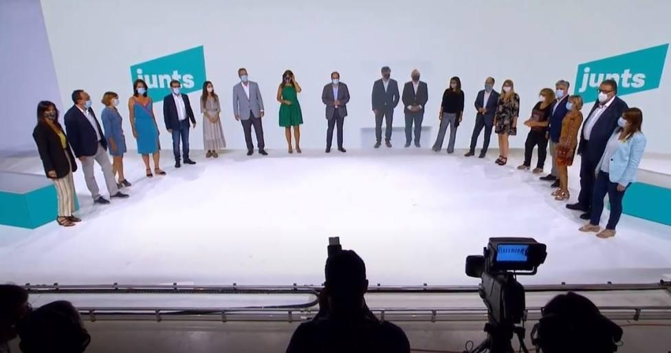 AMP.- Jordi Sà nchez sobre el nuevo JxCat: Será el partido de toda la gente, del pueblo