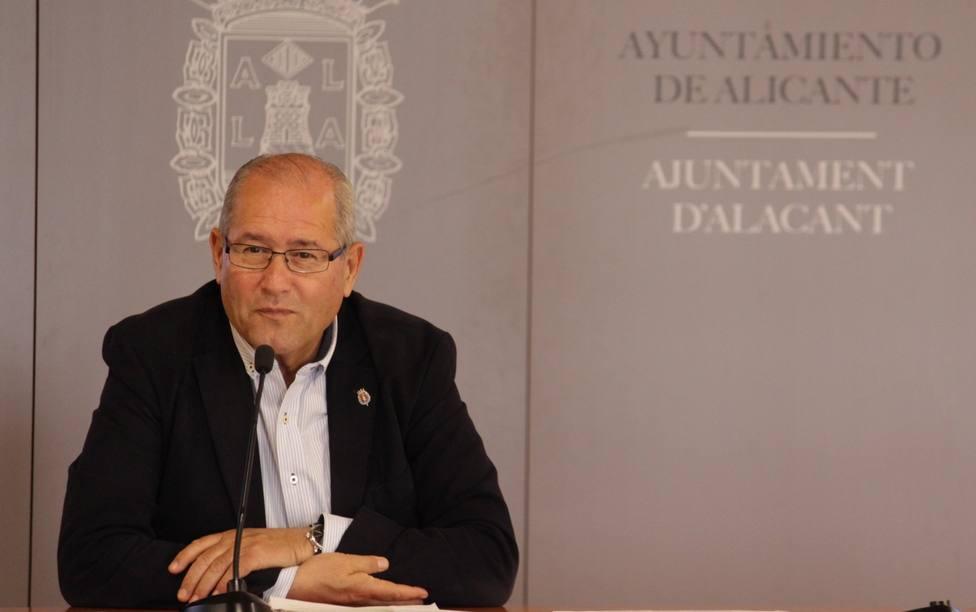 José Ramón González, concejal de Seguridad y Movilidad (Ayuntamiento de Alicante)
