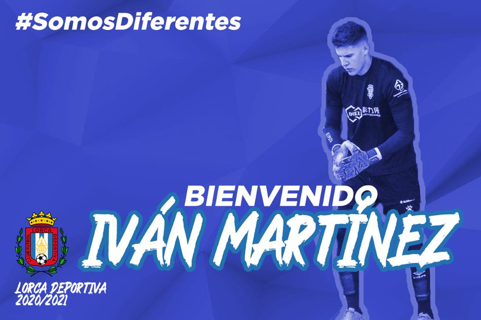 Iván Martínez, nuevo portero del CF Lorca Deportiva