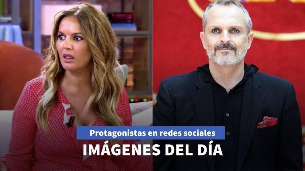 Imágenes del día: Miguel Bosé reaparece en redes y Marta López vuelve a enamorarse