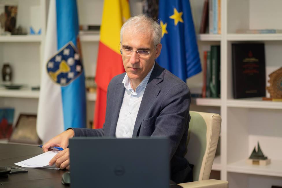 El conselleiro de Economía y vicepresidente segundo de la Xunta de Galicia, Francisco Conde
