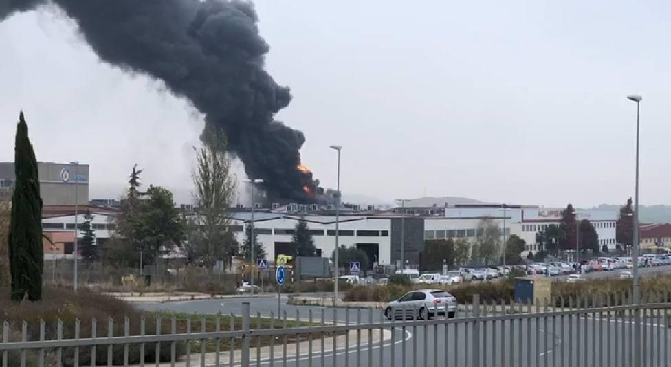 Fallece el trabajador logroñés que resultó herido grave en el incendio de la empresa Kupsa