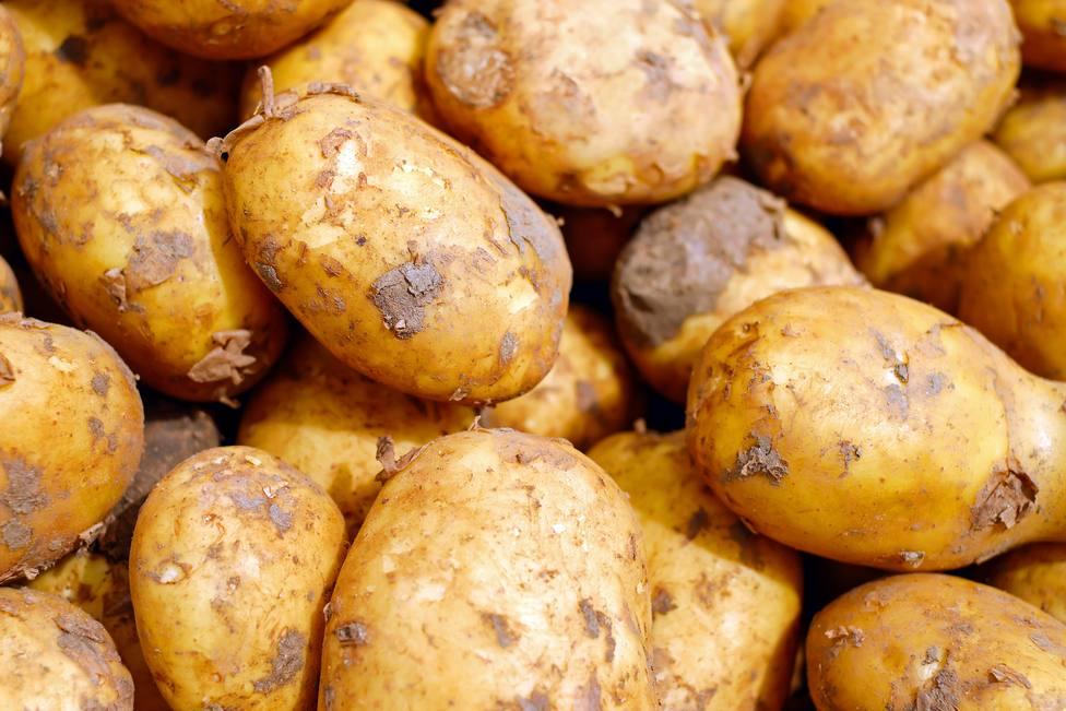 Foto de archivo de patatas