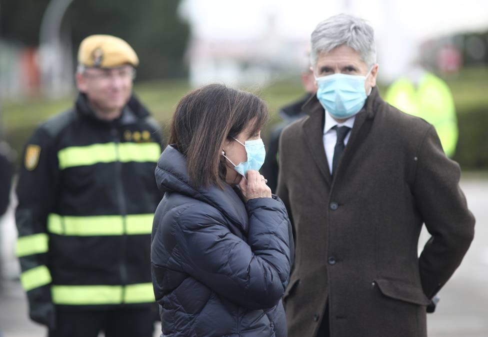 Marlaska critica la desinformación sobre el temporal y Robles se muestra orgullosa del periodismo español