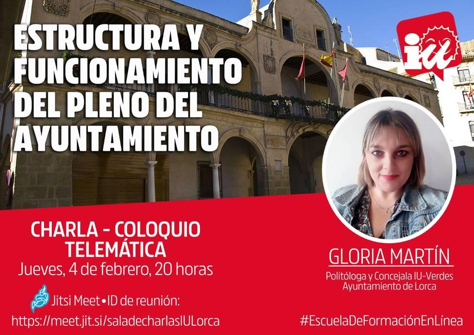 IU-Verdes Lorca pone en marcha su 'Escuela de formación en línea'