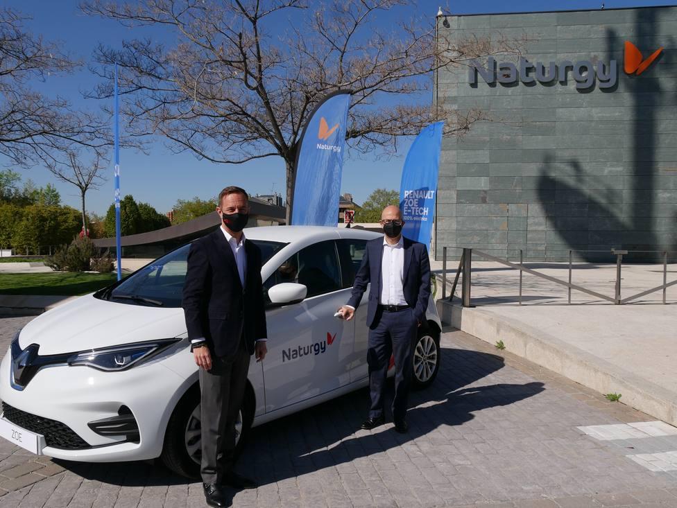 Naturgy apuesta por la movilidad sostenible junto a Grupo Renault para impulsar el vehículo eléctrico