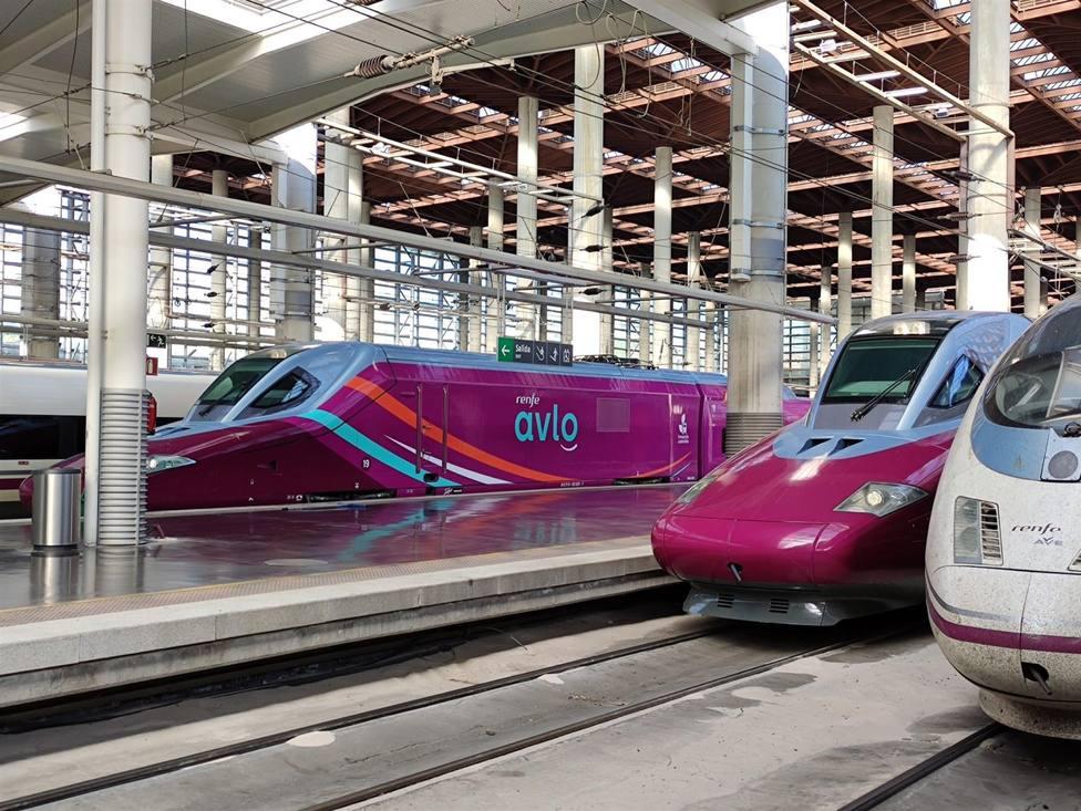 Foto modelo AVLO de RENFE (Europa Press)