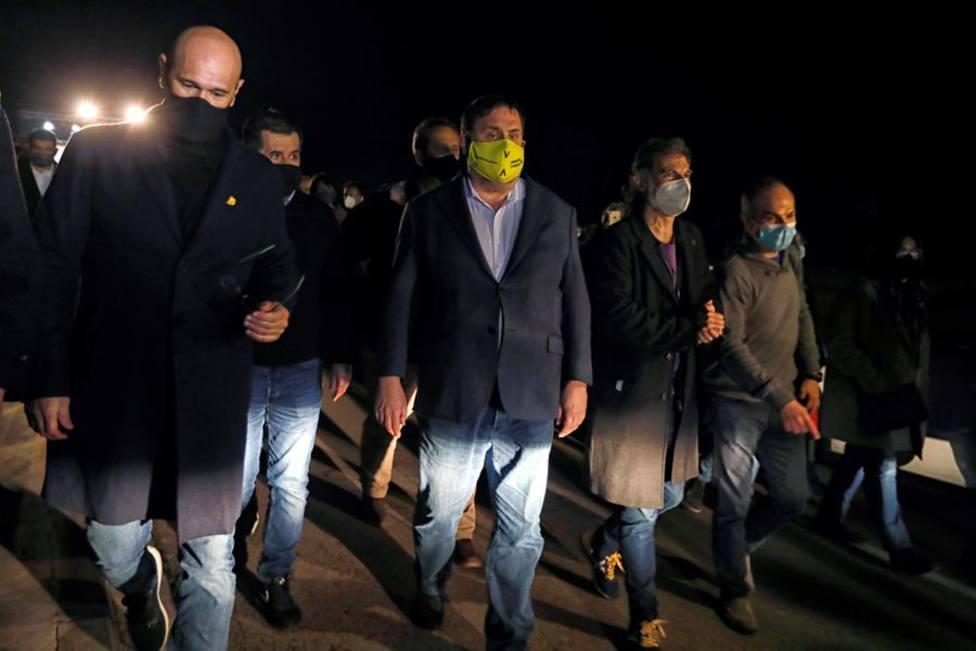 Presos del procés, Raül Romeva, Jordi Sànchez, Joaquim Forn, Oriol Junqueras, Jordi Cuixart