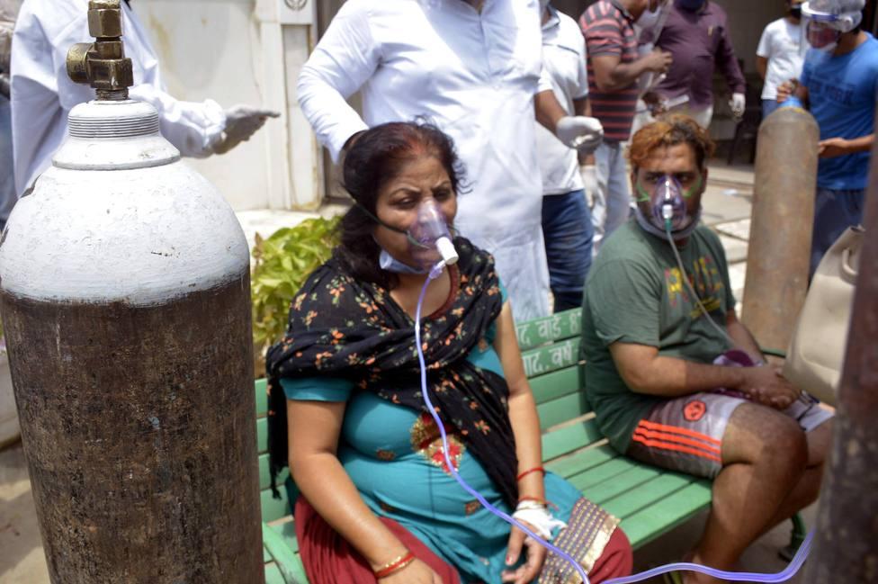 India, epicentro de la pandemia, con 17 millones de contagios y 195.000 muertos