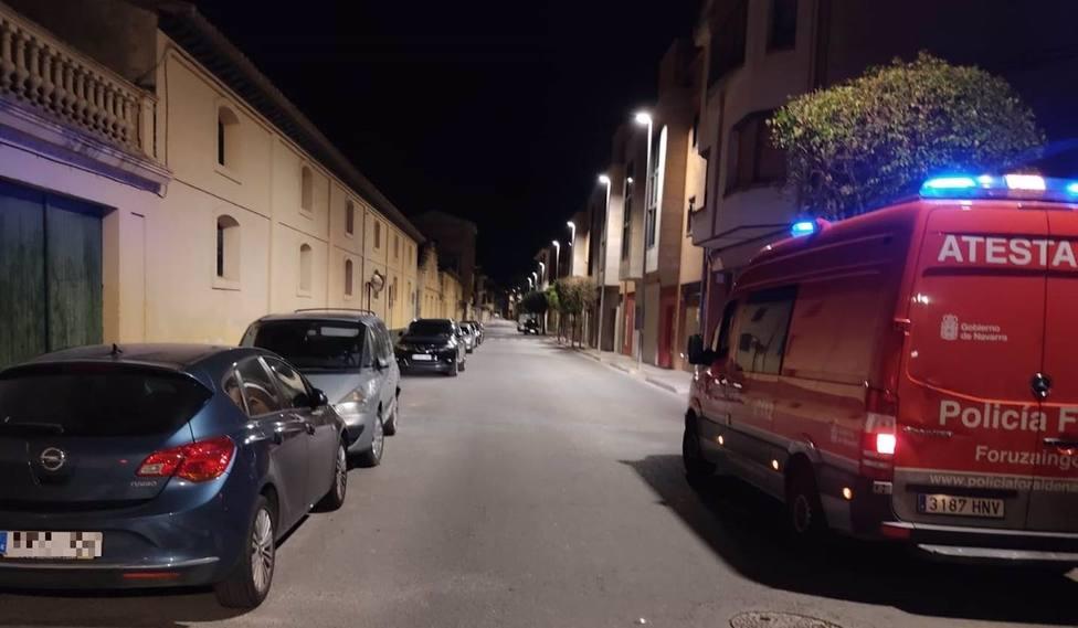 Accidente en Corella