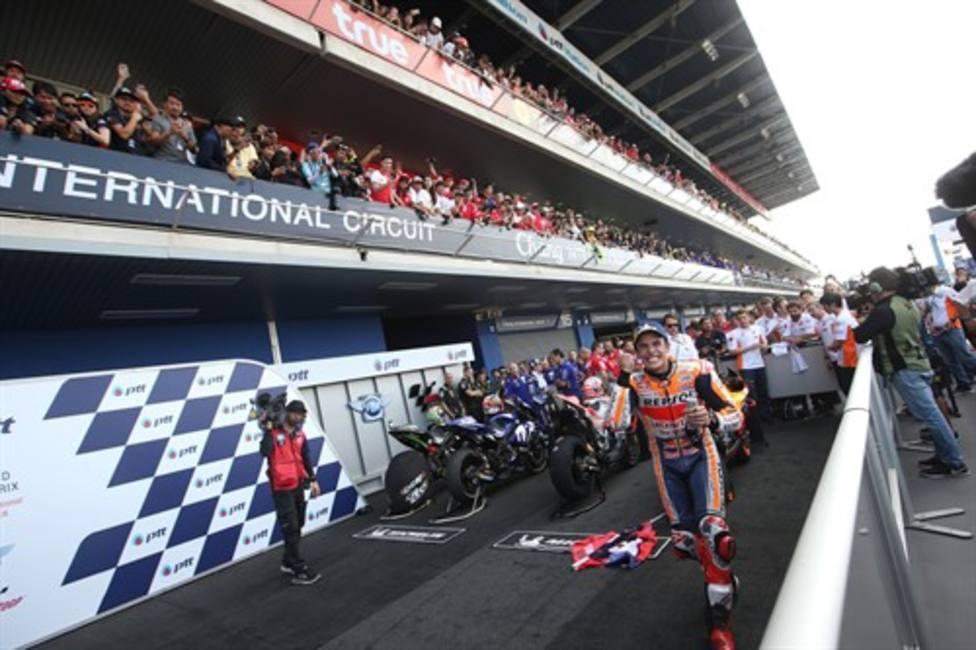 Marc Márquez en el GP de Tailandia